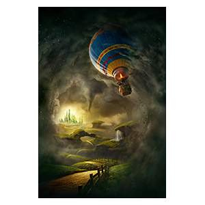 Oz the Great and Powerful. Размер: 40 х 60 см
